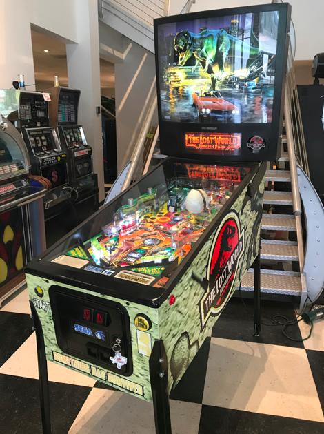 The Lost World: Jurassic Park (pinball)