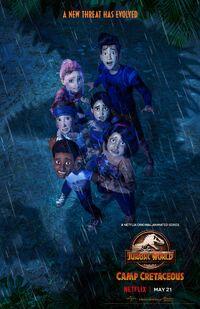 Jurassic World Colo du Crétacé Poster 5