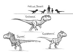 JW Camp Cretaceous Bumpy Carnivores Concept Art.jpg