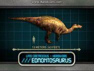 Jurassic park explorer Эдмонтозавр