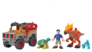 Imaginext Ben, Bumpy, Compy, and Dracorex Closer Look
