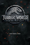 Jurassic World Fallen Kingdom Poster 0