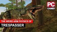 The Weird Arm Physics of Jurassic Park Trespasser