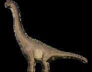 Брахиозавр окрас 1993