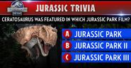 Ceratosaurus Trivia