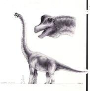 Jurassic park concept art brachiosaurus by indominusrex-dbp4qht