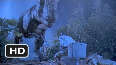 Jurassic Park (4 10) Movie CLIP - Tyrannosaurus Rex (1993) HD-2