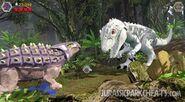 Lego Jurassic World Индоминус рекс против Анкилозавра