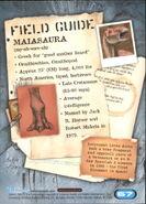 2001 Jurassic Park III 3-D 67 Maiasaura back