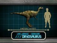 Jurassic park explorer Дриозавр