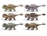 JW Camp Cretaceous Bumpy Ankylosaurus Concept Art