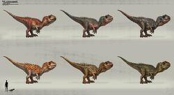 JW Camp Cretaceous Bumpy Baby Cryolophosaurus.jpg