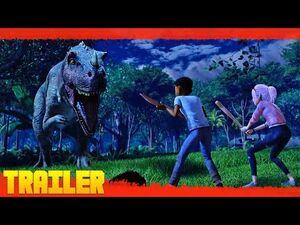 Jurassic World- Campamento Cretácico T2 (2021) Netflix Serie Tráiler Oficial Español Latino