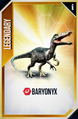 Baryonyx Card