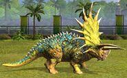 Level 40 Triceratops