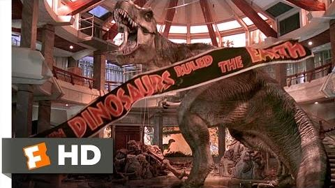 Jurassic Park (1993) - T-Rex vs