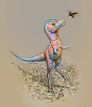 Art impression of a baby Tyrannosaur.png