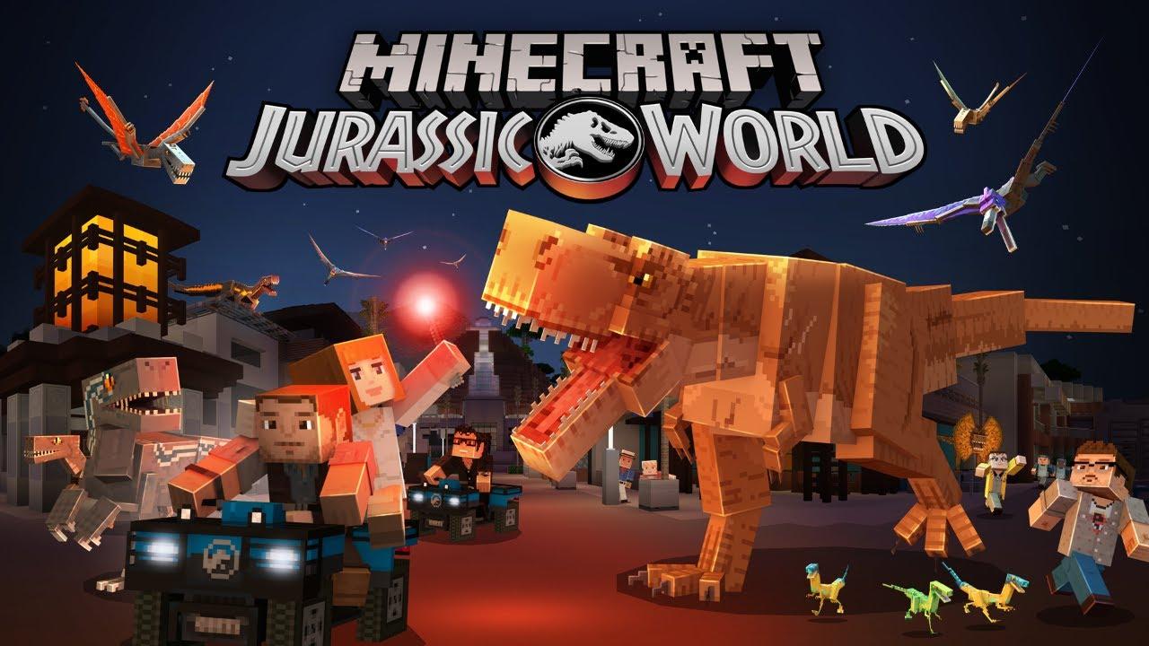 Minecraft Jurassic World