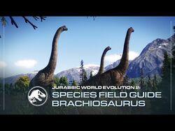 Species Field Guide - Brachiosaurus - Jurassic World Evolution 2