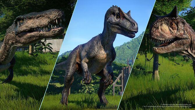 Fallen Kingdom Dinosaur Update
