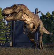 T-Rex from Evolution 2