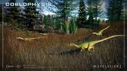 Coelophysis Pack in Jurassic World Evolution 2