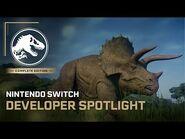 Jurassic World Evolution- Complete Edition - Developer Spotlight - Nintendo Switch