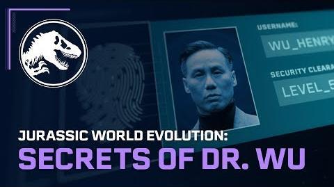 Jurassic World Evolution Secrets of Dr