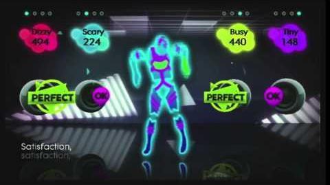 Just Dance 2 Gameplay - Satisfaction