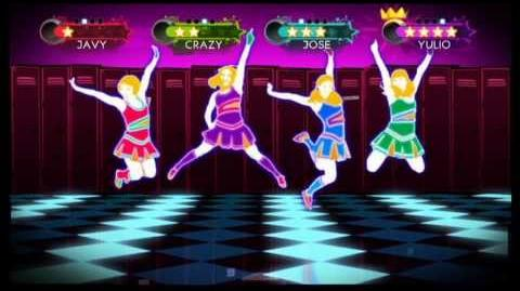 Just Dance 3 Wii Gameplay - The Girly Team Baby one more Time
