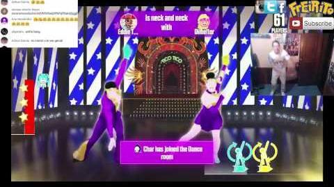 Tico Tico No Fubá JUST DANCE NOW LIVE Celebra el Carnaval 18 02 2017