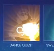 Proof of dance quest on jD17