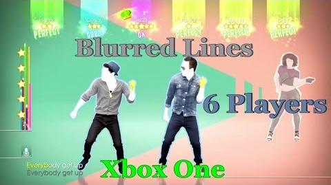 Just Dance 2014 - Blurred Lines 6 Players Xbox One
