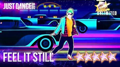 Just Dance 2018 Feel It Still - 5 stars