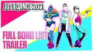 Just Dance 2021 Lista completa de Canciones Ubisoft US