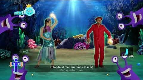Just Dance Disney Party In Fando Al Mar Under The Sea Italian Version 4 stars Xbox 360