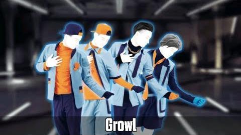 Just Dance Vitality School - Growl - 5 Stars