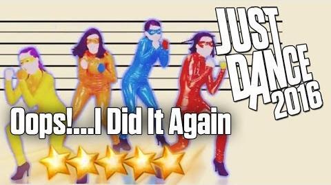 Just Dance 2016 - Oops! I Did It Again - 5 Stars