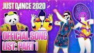 Just Dance 2020 Official Song List - Part 1 US-0