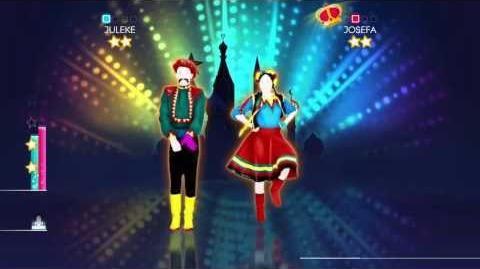 Just Dance 2014 Wii U Gameplay - Dschinghis Khan Moskau