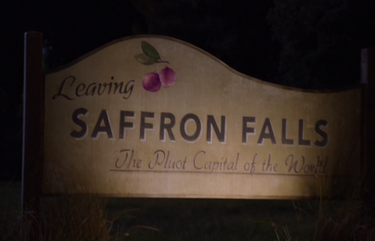 Saffron Falls