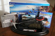 Just Cause 3 collectors edition contents (french PS4)