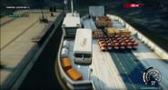 JC4 civilian barge (van jumps at it)