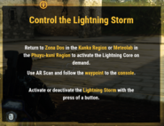 JC4 tip (control the lightning storm)
