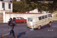 JC3 van grappled to the ground