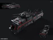 JC4 concept for an armed Black Hand train car