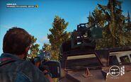 Black Hand Urga Szturm 63A Mounted Gun