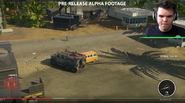 JC4 pre-launch gameplay (APC, van and trailer-tower)