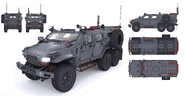 JC4 concept for the Cavalry Armored Truck