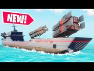 NEW INSANE OVERPOWERED ROCKET FIRING SHIP in Just Cause 4